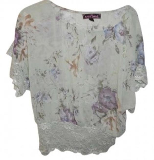 Preload https://item3.tradesy.com/images/mint-green-w-purple-and-blue-flowers-floral-lace-vintage-sheer-blouse-size-12-l-189987-0-0.jpg?width=400&height=650