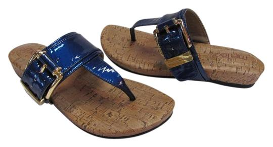 Preload https://img-static.tradesy.com/item/18998713/me-too-blue-new-m-leather-excellent-condition-sandals-size-us-6-regular-m-b-0-1-540-540.jpg