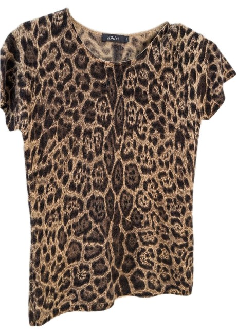 Preload https://item5.tradesy.com/images/leopard-pure-animal-print-cashmere-shell-sweaterpullover-size-4-s-18998764-0-1.jpg?width=400&height=650