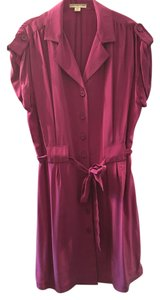 Coldwater Creek short dress Fuchsia on Tradesy