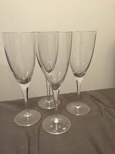 Set Of Four Champagne Flutes