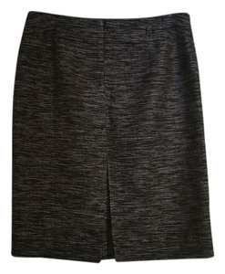 Banana Republic Work Pencil Pockets Skirt black