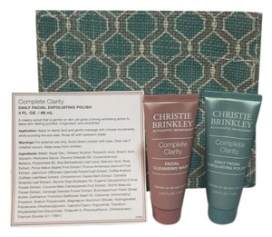 Christie brinkley CHEISTIE BRINKLEY AUTHENTIC SKINCARE COMPLETE CLARITY Face Care Set