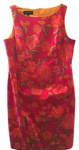 Jones New York short dress Multi / Pink on Tradesy
