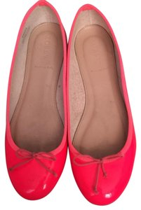 J.Crew Brand Name Free Shipping Neon Pink Flats