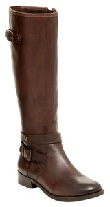 Arturo Chiang Leather Knee-high Brown Boots