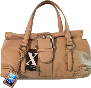 Maxx New York Tote in Tan Silvet