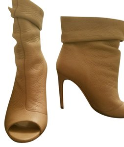 Burberry Leather Nude Boots