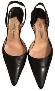 Manolo Blahnik Black calf leather Pumps
