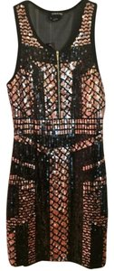 bebe Club Wear Mini Sequin Sexy Dress