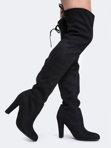 Steve Madden Over Black Boots