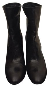 Barneys New York Black calf leather Boots