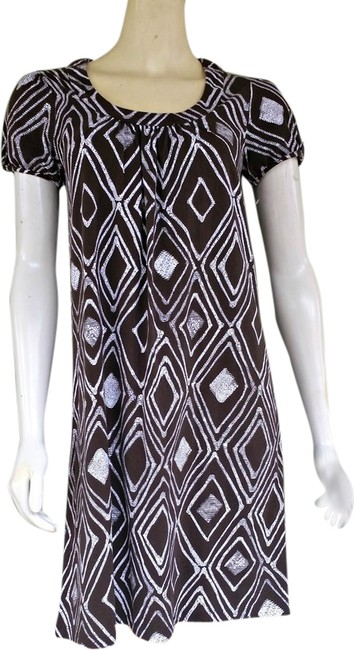 Jones New York short dress Brown Pull-on Jersey on Tradesy