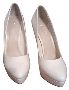 Aldo Cream Pumps