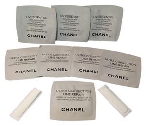 Chanel 8 CHANEL SAMPLE PACKS + 2 CHANEL PLASTIC APPLICATORS NEW