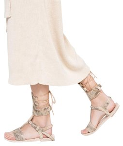 Brother Vellies Gladiator Coast goat hair Sandals