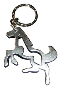 Other Light Weight Silver Horse Key Chain Key Ring Free Shipping
