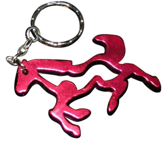 Other Light Weight Red Horse Key Chain Key Ring Free Shipping