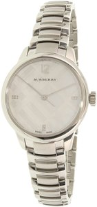 Burberry Burberry Women's Classic Round Silver Swiss Quartz Watch BU10110