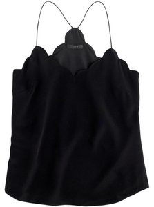 J.Crew Silk Cami Top Black
