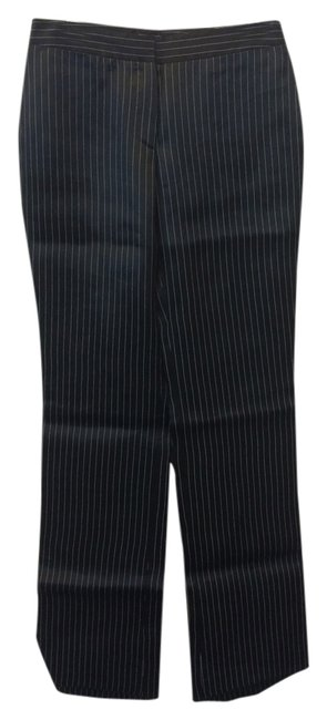 Alexander McQueen Super Flare Pants black and white