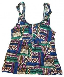 Forever 21 Top Tribal Print