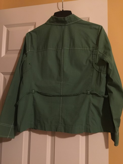 Ann Taylor LOFT Kelly Green Jacket