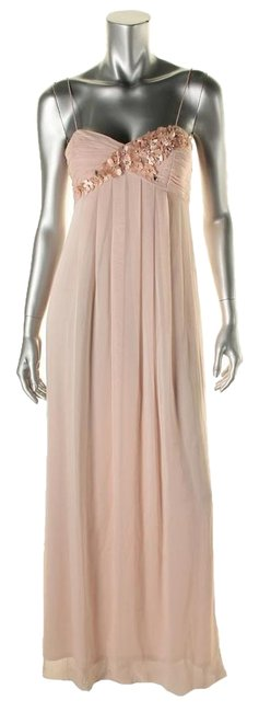 Item - Pink Formal Long Night Out Dress Size 4 (S)