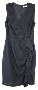Black Maxi Dress by Alannah Hill Silk Sleeveless Sheath