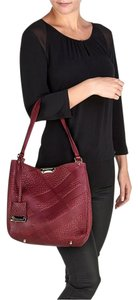 Burberry Leather Textured Tote