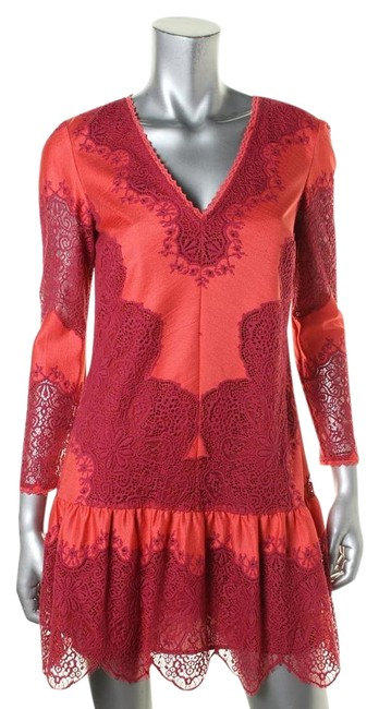Preload https://img-static.tradesy.com/item/19006837/juicy-couture-coral-above-knee-cocktail-dress-size-0-xs-0-1-650-650.jpg