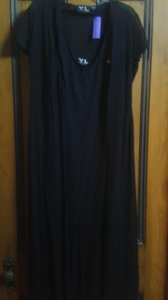 black Maxi Dress by YL by Yair