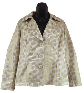 Tribal Circular Pattern stone, lime Jacket
