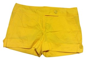 5/48 Cuffed Shorts Yellow