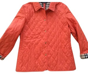 Burberry Coral/Orange Jacket