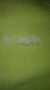 Columbia Lime Green Jacket