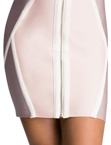 bebe Mini Skirt Light pink and lavendar