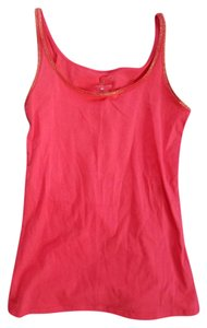 New York & Company Sparkle Glitter Top Pink