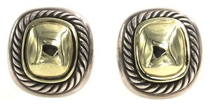 David Yurman David Yurman Albion 14 KY Gold Sterling Silver Earrings