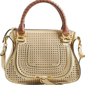 Chlo Chloe Marcie Horseshoe Shoulder Bag