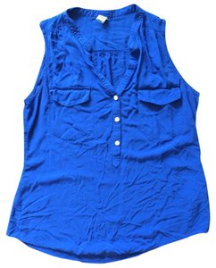 Old Navy Top Bright Royal Blue