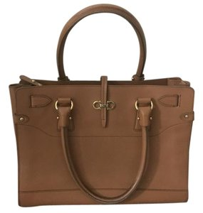 Salvatore Ferragamo Tote in Tan