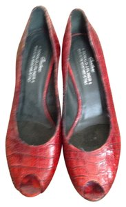 Donald J. Pliner Wine red Pumps