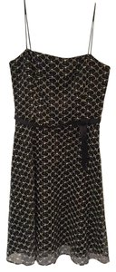 Laundry by Shelli Segal Embroidered Spaghetti Strap Dress