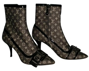 Louis Vuitton Canvas Monogram black/gray Boots
