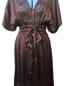 Plenty by Tracy Reese short dress Brown on Tradesy