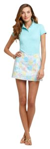Lilly Pulitzer Pastel Pink Yellow Skort blue