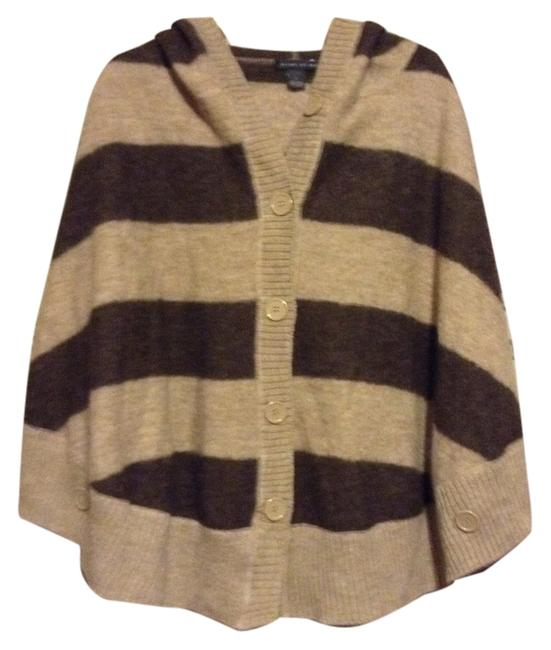 Preload https://item3.tradesy.com/images/elena-solano-chocolate-brown-and-tan-114186-ponchocape-size-14-l-1901132-0-0.jpg?width=400&height=650