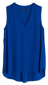 Madewell Top Brilliant Royal