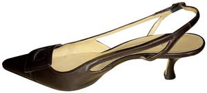 Manolo Blahnik Dark Brown Pumps